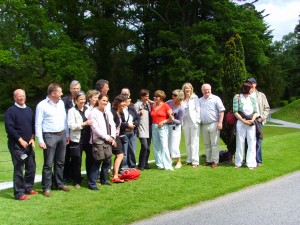 Gruppenbild im Nationalpak Killarney